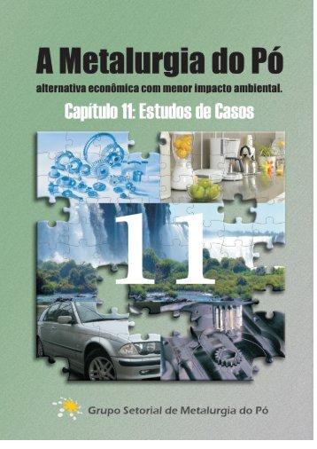 Capítulo 11 - Grupo Setorial de Metalurgia do Pó