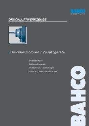 Technische Informationen - Bahco