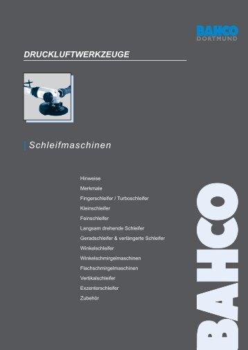 F inger schleifer / Turboschleifer - Bahco