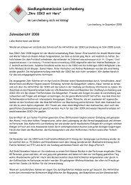 Siedlungskommission Lerchenberg