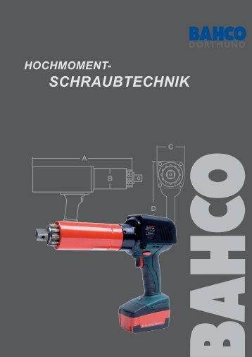 Hochmomentschraubtechnik - Bahco