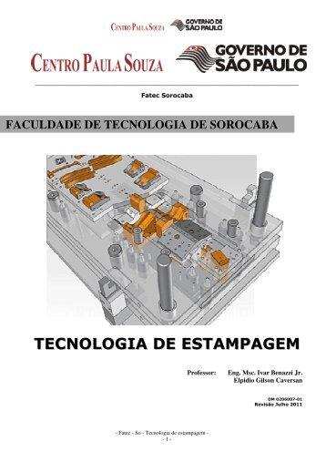 Tecnologia de Estampagem - Trabalho Prático e Anexos