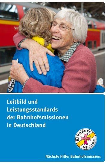 Das Leitbild der Bahnhofsmissionen in Deutschland