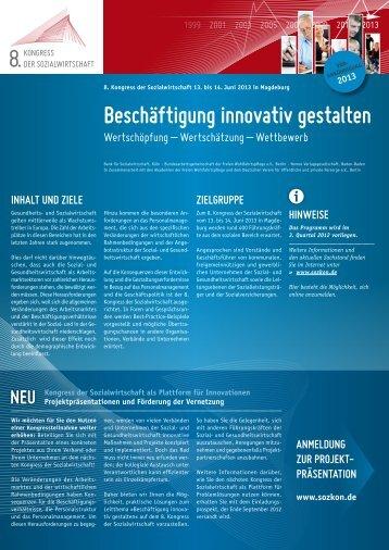 Beschäftigung innovativ gestalten - AWO  Bundesakademie