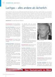 Fachartikel Lachgassedierung - Baldus Medizintechnik GmbH