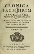 Cronica de Palmeirim de Inglaterra : primeira, e segunda parte - Page 7