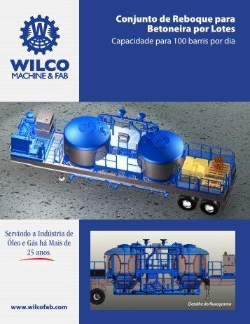 Conjunto de Reboque para Betoneira por Lotes - Wilco Machine ...