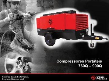 Compressores Portáteis 760Q – 900Q - Compressor Pneumatic