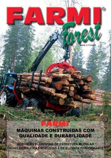 máquinas construídas com qualidade e durabilidade - farmi forest ...