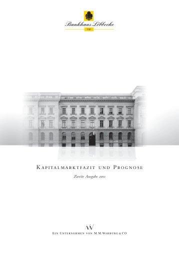 Kapitalmarktfazit und Prognose - Bankhaus-loebbecke.de