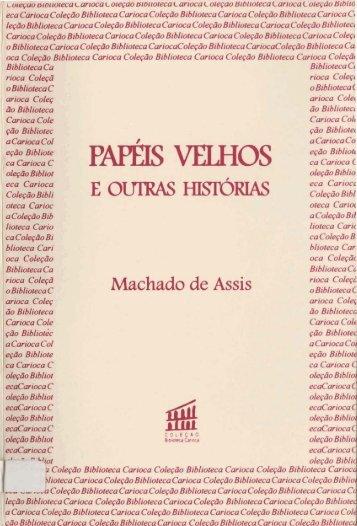 Machado de Assis - Portal da Prefeitura da Cidade do Rio de Janeiro