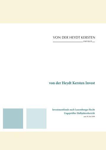 von der Heydt Kersten Invest - Bankhaus von der Heydt