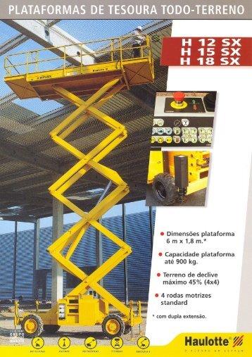 Ficha Técnica - GAM - Aluguer de Equipamentos