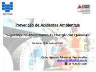 Segurança no Atendimento às Emergências Químicas - Semad