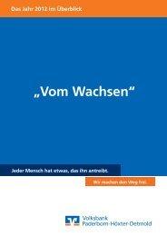 Das Jahr 2012 im Überblick - Bankverein Werther