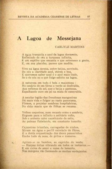Lagoa de Messejana - Carlyle Martins