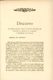 Discurso DO ORADOR OFFICIAL PADRE VALDEVINO NOGUEIRA ...