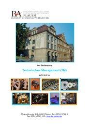 pdf-Format - Staatliche Studienakademie Plauen