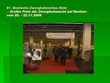 Großer Preis der  Zwerghuhnzucht auf Bantam - Der Bantam-Klub ...