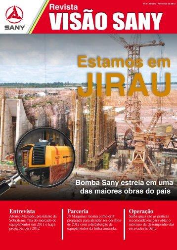 JS Máquinas está pronta para os desafios de 2012 - Sany