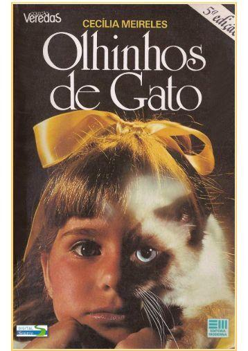 Cecília Meireles - Olhinhos de Gato (pdf)(rev) - Português