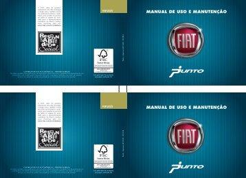 MANUAL DE USO E MANUTENÇãO - Fiat