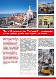 Nord & centre du Portugal – escapade de 8 ... - Zermatt Rail Travel