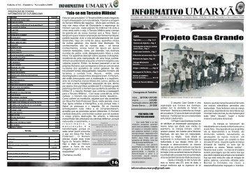 Outubro de 2009 - Revista do Amanhecer