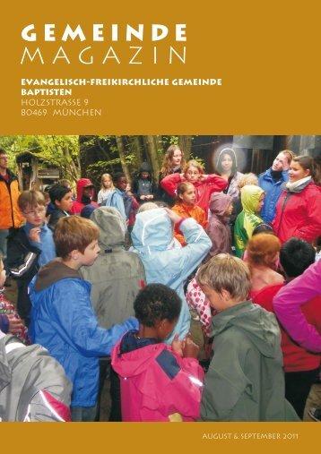 Magazin - Baptisten München Holzstrasse