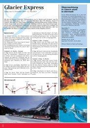 Glacier Express - Zermatt Rail Travel