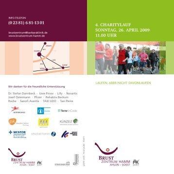 Weitere Information zum Lauf hier - St. Barbara-Klinik Hamm ...