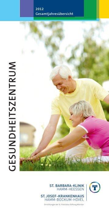 Programmheft 2012 GZ - St. Barbara-Klinik Hamm-Heessen GmbH