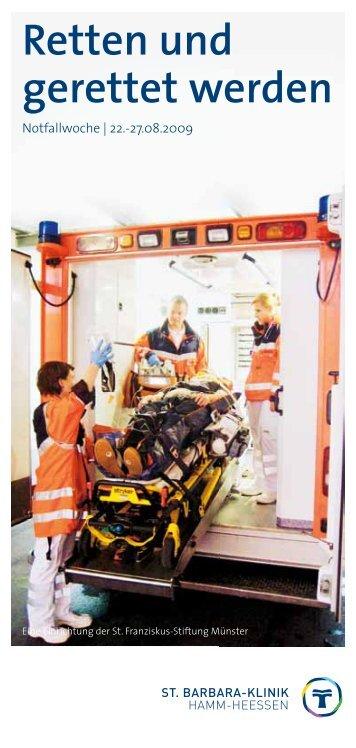 Retten und gerettet werden - St. Barbara-Klinik Hamm-Heessen GmbH
