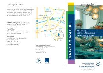 OTA-Informationsflyer zum Download - St. Barbara-Klinik Hamm ...