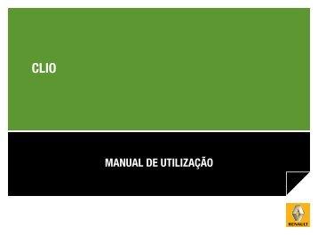 MANUAL DE UTILIZAÇÃO - Renault