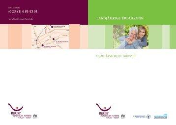Qualitätsbericht Brustzentrum - St. Barbara-Klinik Hamm-Heessen ...