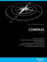 Compass: January 2012 - Barclays Wealth