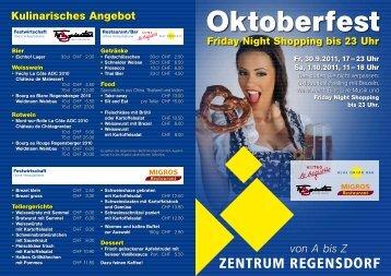 Oktoberfest Friday Night Shopping bis 23 Uhr Fr, 30.9.2011, 17–23 ...
