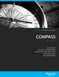 COMPASS - Barclays Wealth