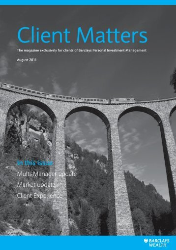 Client Matters - Barclays Wealth