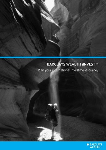 Barclays iInvest brochure - Barclays Wealth