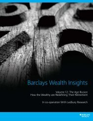 PDF [0.7Mb] - Barclays Wealth