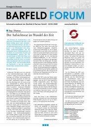 Top Thema: Der Aufsichtsrat im Wandel der Zeit - Barfeld