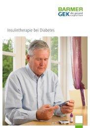 Insulintherapie bei Diabetes ( PDF , 1 MB ) Hinweis - Barmer GEK