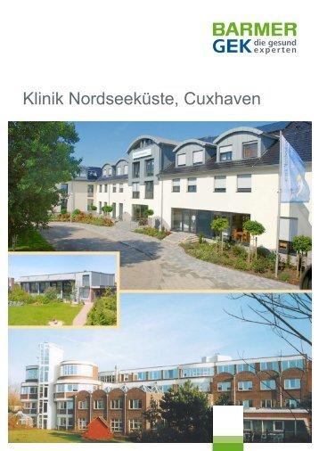 Klinik Nordseeküste - Cuxhaven ( PDF , 424 KB  ) - Barmer GEK