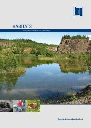 HABITATS - bei der Basalt-Actien-Gesellschaft