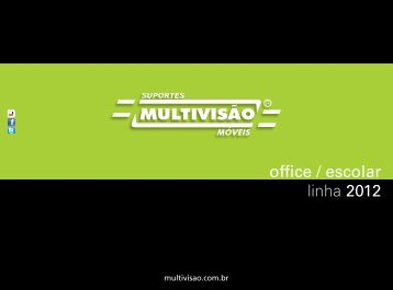 Catálogo Office Escolar 2012 - Multivisão
