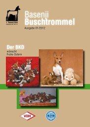 Leseprobe 01 - 2012  - 1.Basenji Klub Deutschland von 1977 eV