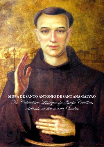 missa de santo antônio de sant'ana galvão - Franciscanos.org.br