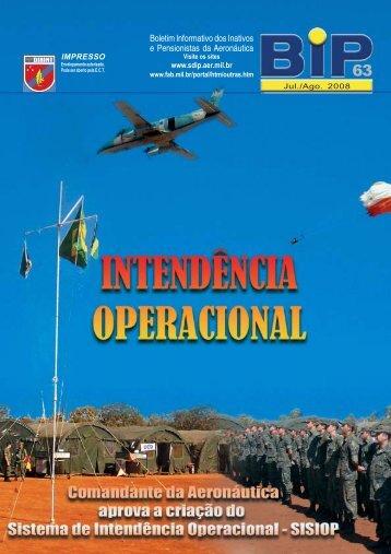 BIP 63 - Subdiretoria de Inativos e Pensionistas da Aeronáutica
